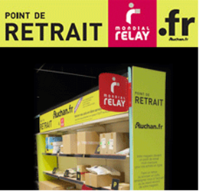 Point de retrait Libre Service