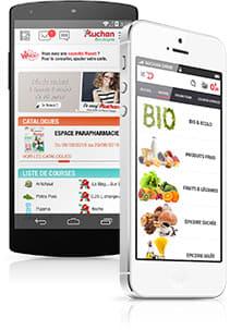 applications auchan sur android et iphone t l chargement. Black Bedroom Furniture Sets. Home Design Ideas