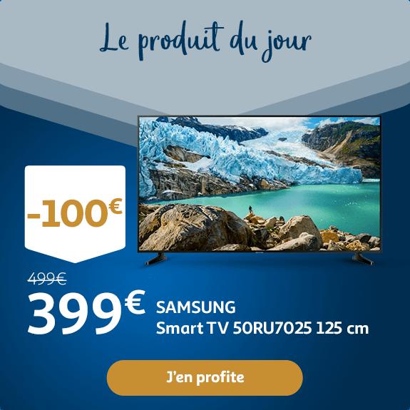 SAMSUNG Smart TV LED 125 cm  : 399€