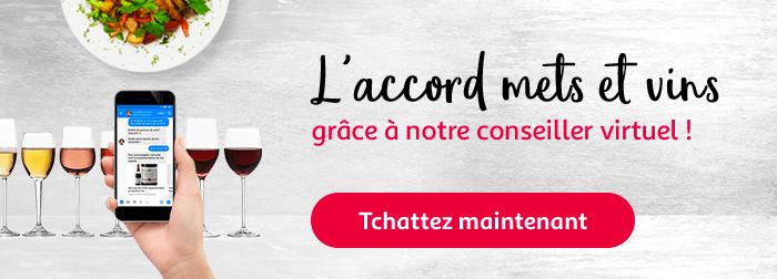 Trouvez l'accord mets et vins grâce à notre conseiller virtuel !