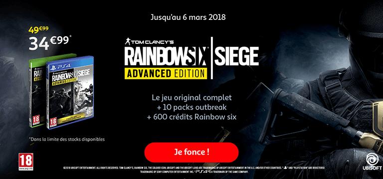 Jusqu'au 6 mars : Rainbow Six Siege