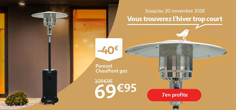 Jusqu'au 20 novembre, 125jours Auchan : Vous trouverez l'hiver trop court !