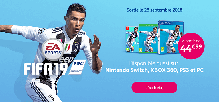 FIFA19 : Sortie le 28 septembre