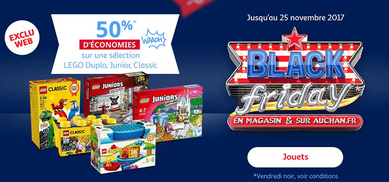 Jusqu'au 25 novembre: 50%* d'économies Waaoh sur une sélection LEGO Duplo, Junior, Classic