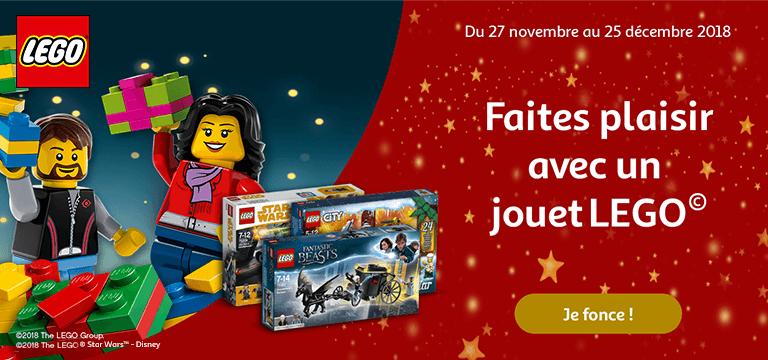 Lego®: Faîtes plaisir avec un jouet Lego