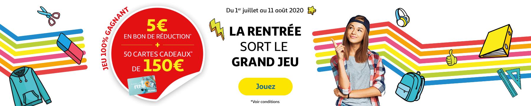 Auchantraiteur.fr et Mix Buffet : Tentez de gagner une des 200 cartes cadeaux de 50€