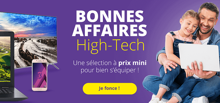 Bonnes affaires High-tech