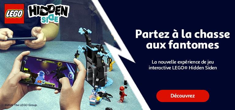 Partez à la chasse aux fantômes avec LEGO® Hidden Side