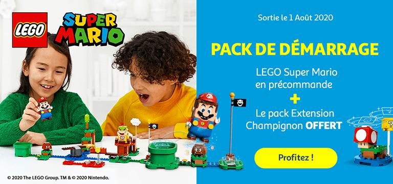 Lego super Marion, pack de démarrage