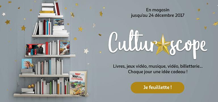 En magasin jusqu'au 24 décembre 2017 : Culturoscope