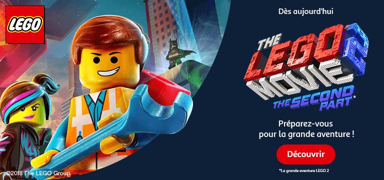 Lego® Movie 2 : préparez-vous pour la grande aventure !