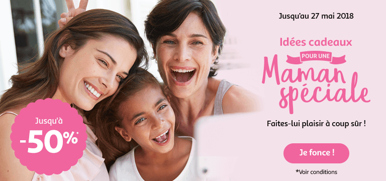 Jusqu'au 27 mai, des idées cadeaux pour une maman spéciale