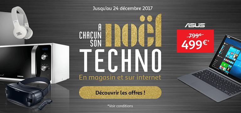 Jusqu'au 24 décembre : à chacun son Noël Techno