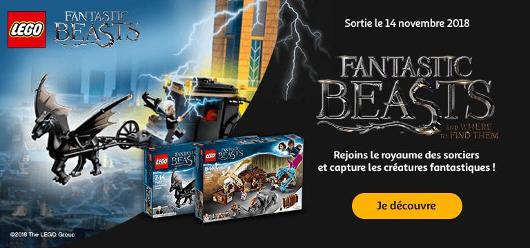 Lego®: je  découvre l'univers Fantastic Beasts