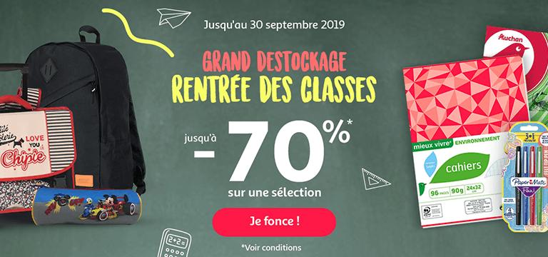 Carte Grise Auchan Perols.Fournitures Scolaires Pas Cher Pour La Rentree Des Classes A