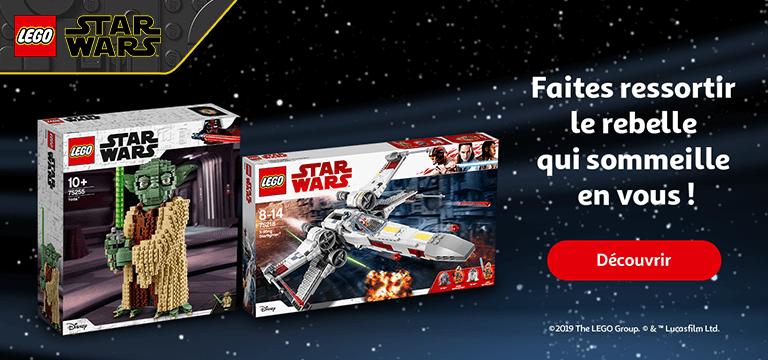 Lego Star Wars, faites ressortir le rebelle qui sommeille en vous !
