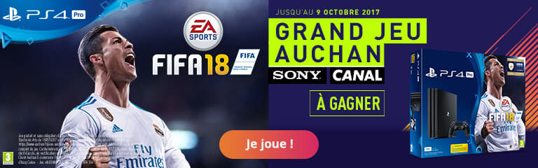Grand jeu Auchan Fifa18