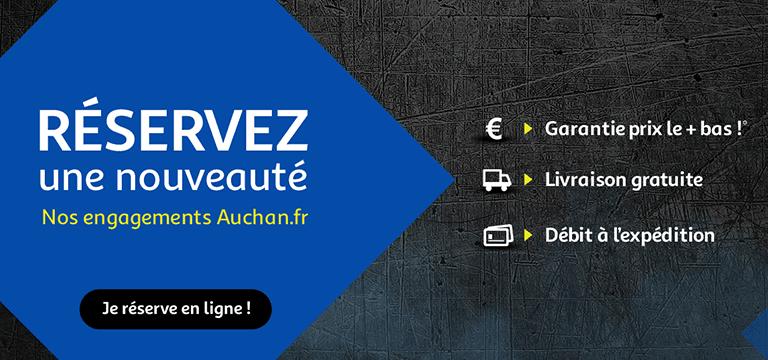 Réservez une nouveauté : nos engagements Auchan.fr
