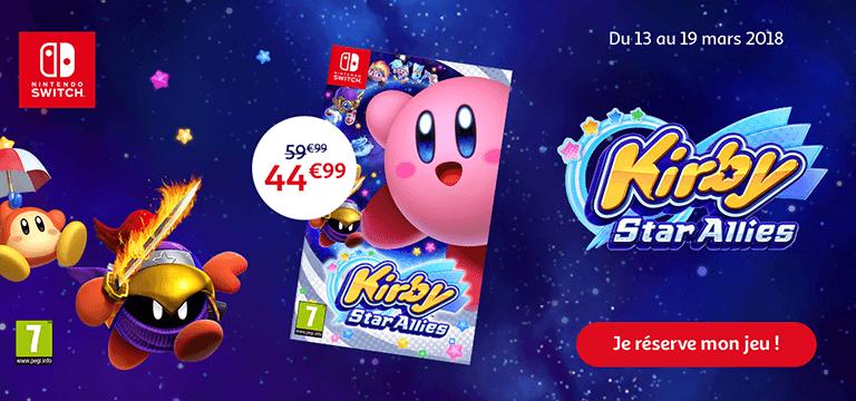 Précommandez le jeu Kirby Star Allies pour Nintendo Switch