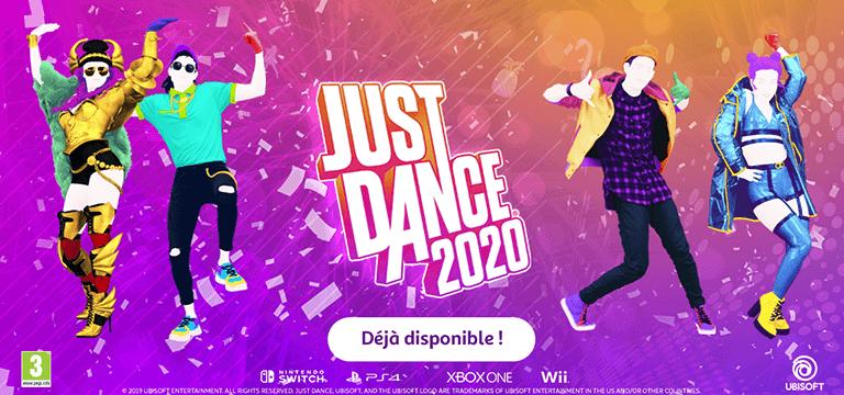 Just Dance 2020, déjà disponible !