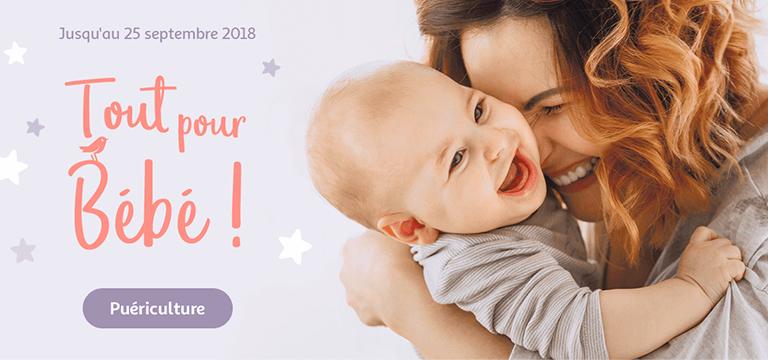 Jusqu'au 24 septembre 2018 : Tout pour bébé