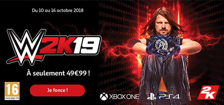 Jusqu'au 16 octobre 2018, W2k19 à partir de 49,99€