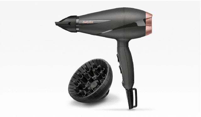 Sèche cheveux Babyliss Smooth Pro 2100 W Noir