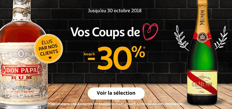 Du 19 octobre ou 1er novembre : vos coups de coeur jusqu'à -30%