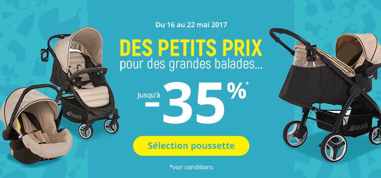 Du 16 au 22 mai 2017 : des petits prix pour des grandes balades jusqu'à -35%