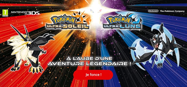 Nintendo 3DS Pokémon Ultra : Soleil et Lune sont disponibles!
