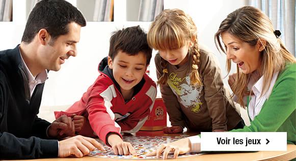 Jeux de société pour les enfants et pour la famille