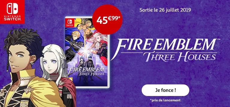 Le 26 juillet : Lancement Nintendo Fire Embleme à partir de 45€99