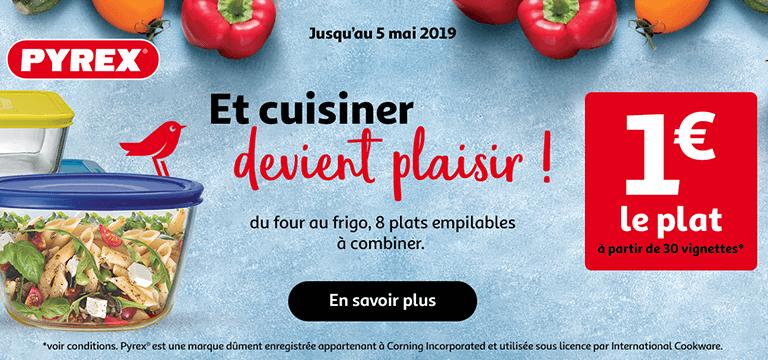 Pyrex - Et cuisiner devient un plaisir !