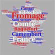 Carte de France des fromages