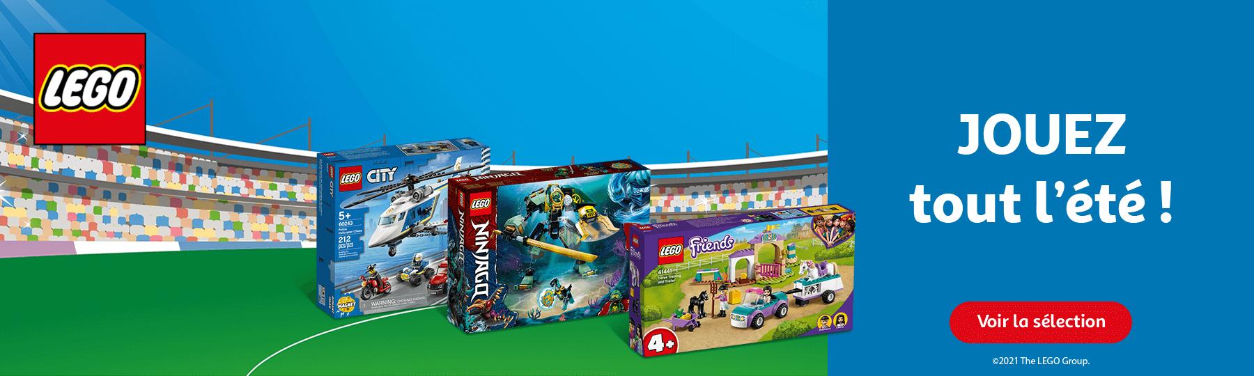 LEGO, jouez tout l'été !