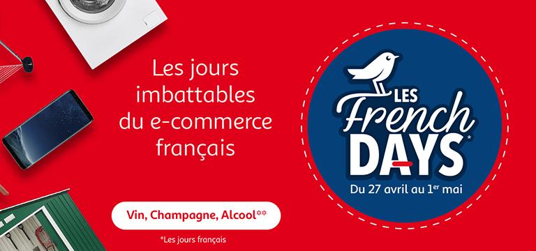 Jusqu'au 1er mai : les French Days, les jours imbattables