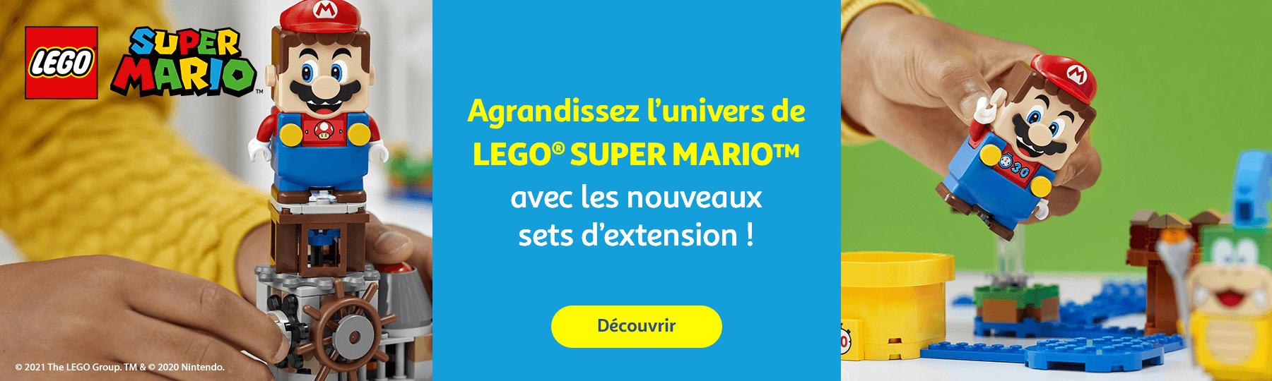 Découvrez les Lego Super Mario
