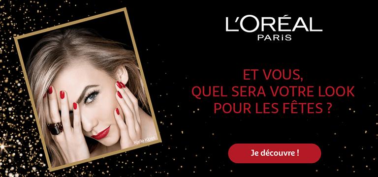 Choisissez le look L'oréal pour les fêtes !