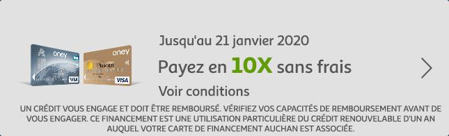 Payez en 10X sans frais