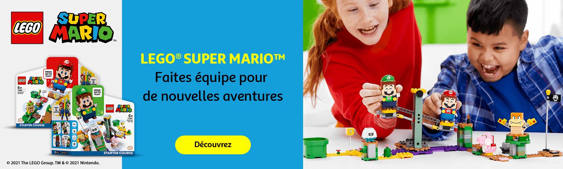 LEGO Super Mario. Faites équipe pour de nouvelles aventures