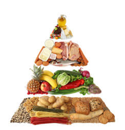 Alimentation saine équilibrée