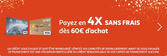 Payez en 4X sans frais dès 60€ d'achat.