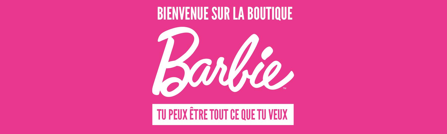 Bienvenue sur la boutique barbie® tu peux être tout ce que tu veux