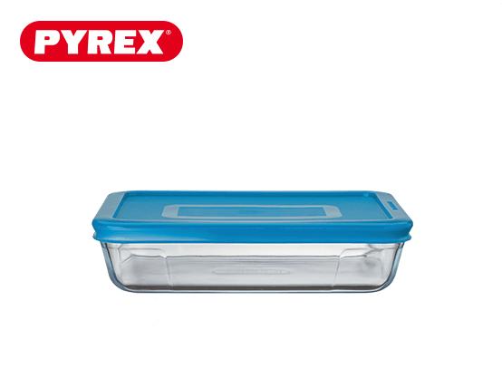 Pyrex® Plat rectangulaire 0,8L avec couvercle