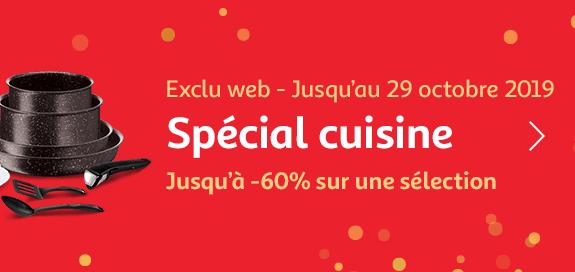 Exclu web : Spécial Cuisine ! Jusqu'à -60% sur une sélection