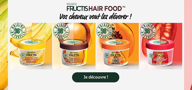 Fructis Hair food : vos cheveux vont les dévorer !