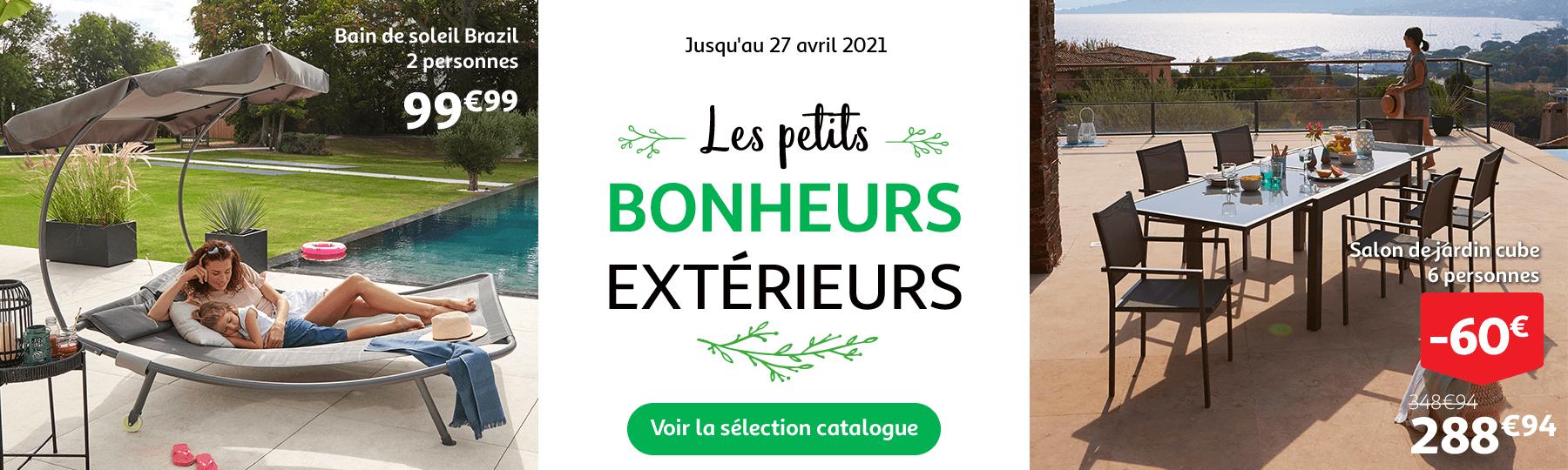 Jardin, bricolage, les petits bonheurs extérieurs, jusqu'au 27 avril 2021