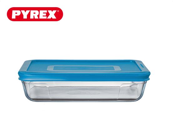 Pyrex® Plat rectangulaire 1,5L avec couvercle