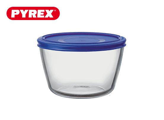 Pyrex® Plat rond 1,1L avec couvercle