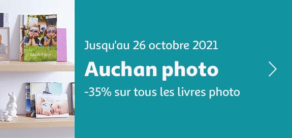 Auchan photo -35% sur tous les livres photo